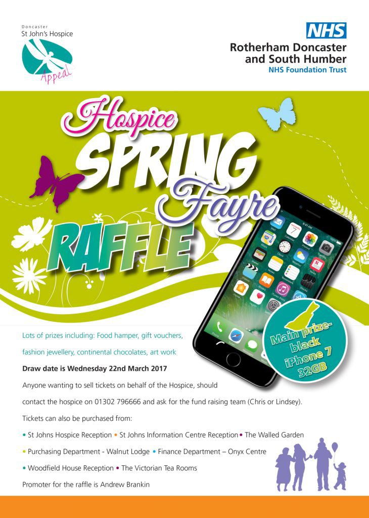 Hospice Spring Fayre iPhone poster-2017